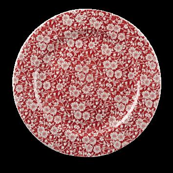 Churchill Vintage Cranberry Victorian Calico Plate 30.5 cm