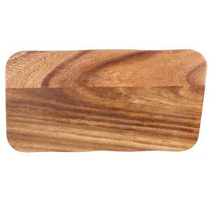 plank rechthoek acacia 30 x 14 x 2 cm