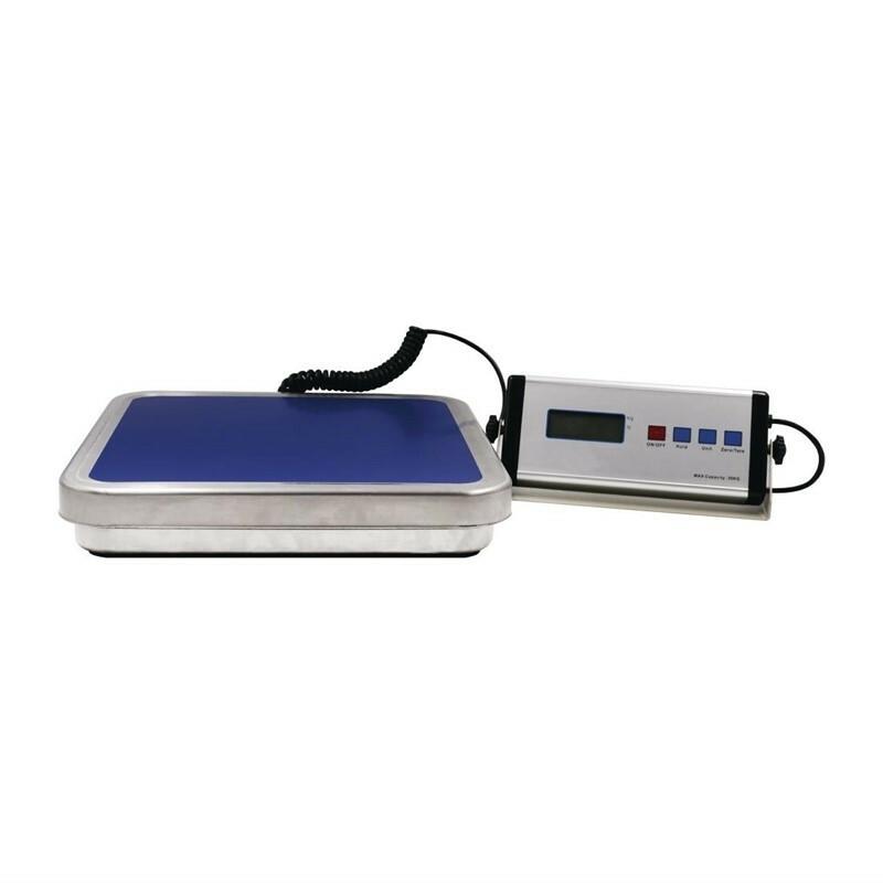 Weight Station elektronische weegschaal 30 kg in 10 grams stappen