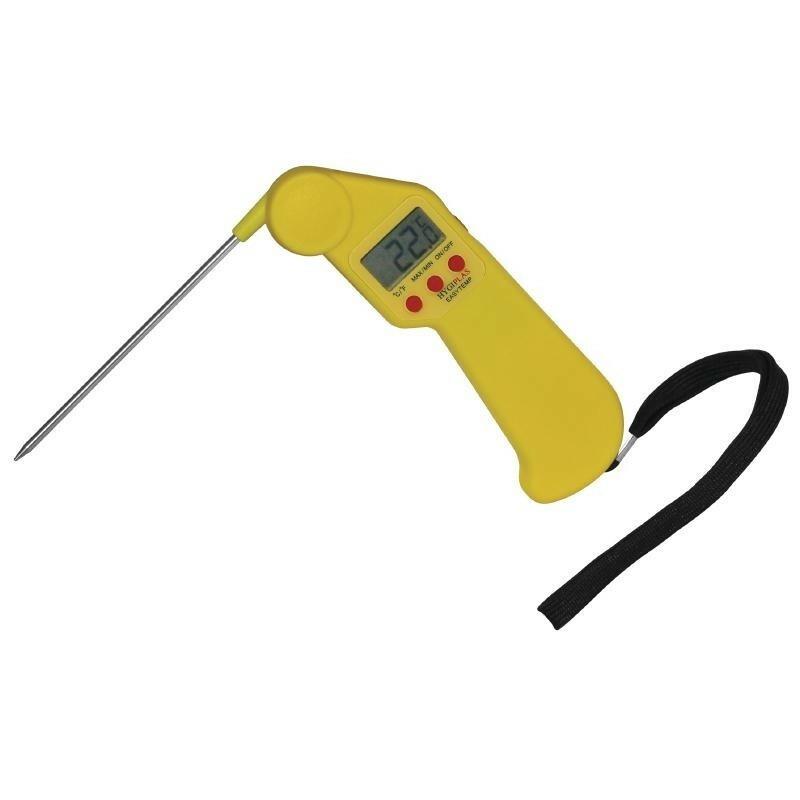 easytemp thermometer geel inklapbaar