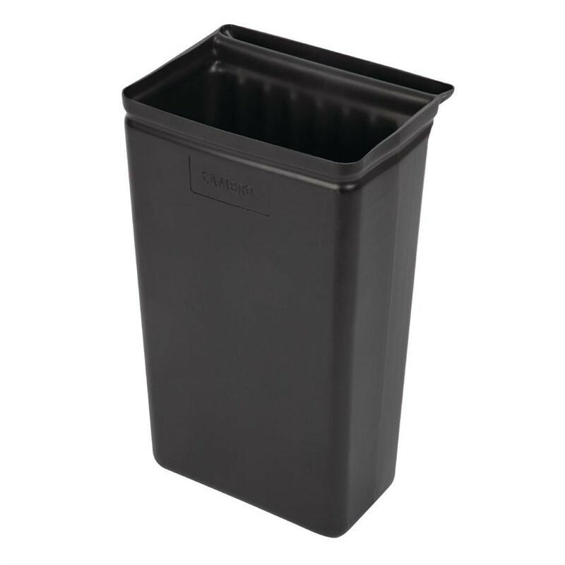 afvalbak voor Cambro serveerwagen kunststof 30 Ltr