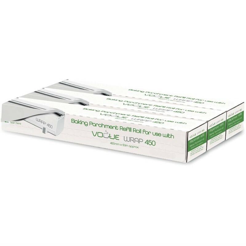 Wrap450 bakpapier 45 cm breed DOOS 3