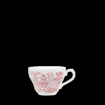 Churchill Vintage Cranberry Willow Georgian Teacup 19,8 cl