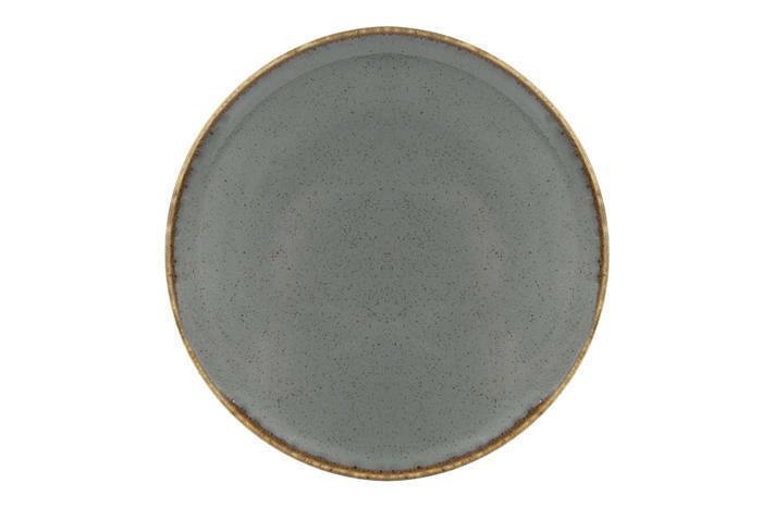 Porland Seasons Dark Grey extra plat bord 28 cm