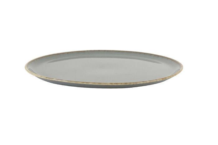 Porland Seasons Dark Grey extra plat bord 32 cm