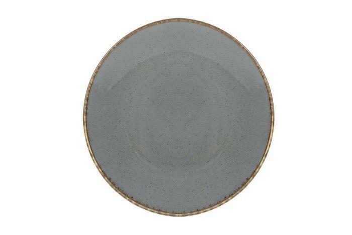 Porland Seasons Dark Grey coupe bord 26 cm