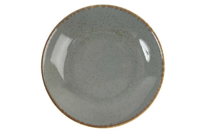 Porland Seasons Dark Grey coupe bord diep 21 cm