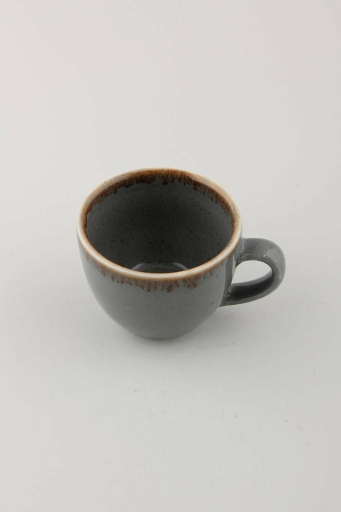 Porland Seasons Dark Grey espressokop 8 cl