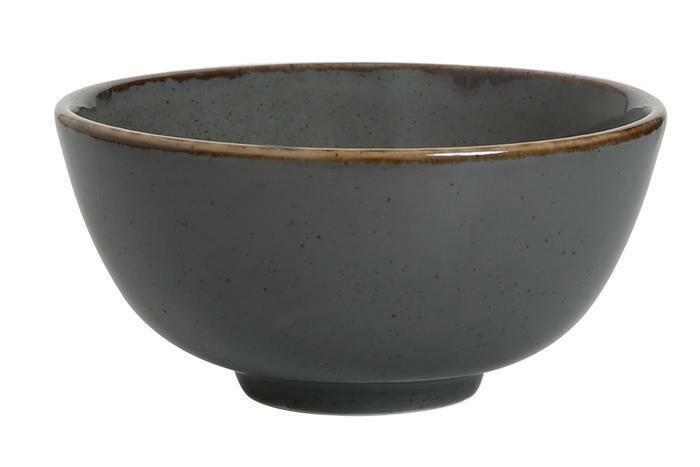 Porland Seasons Dark Grey bowl 13 cm 33,5 cl