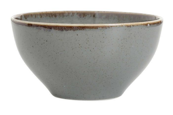 Porland Seasons Dark Grey bowl 14 cm 55 cl