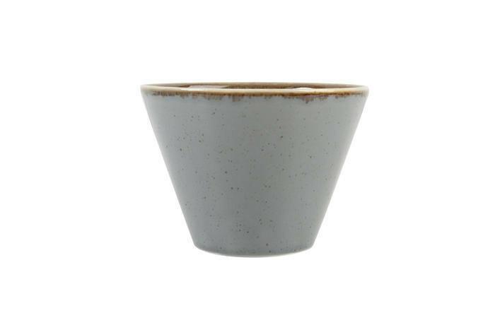 Porland Seasons Dark Grey bowl conisch 6 cm 4,7 cl