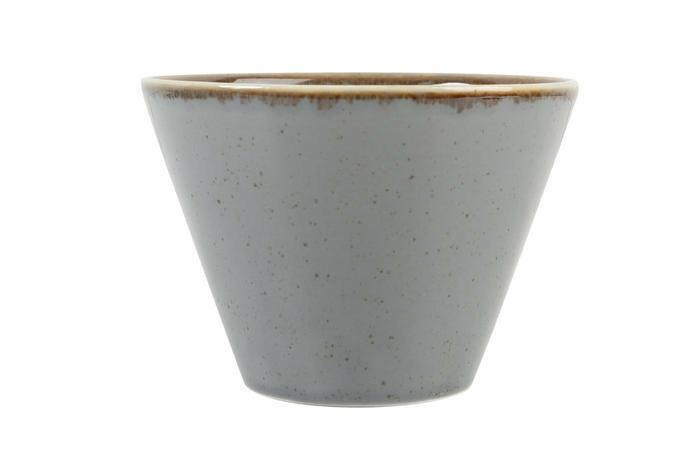 Porland Seasons Dark Grey bowl conisch 12 cm 39 cl