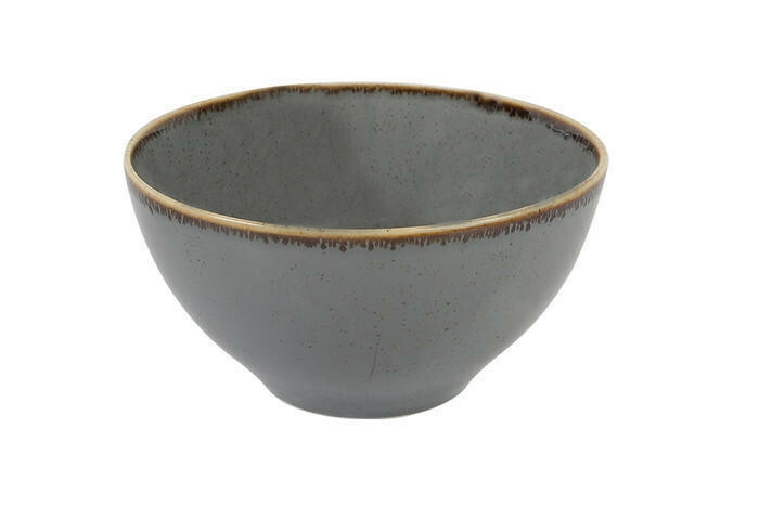 Porland Seasons Dark Grey bowl 16 cm 77 cl