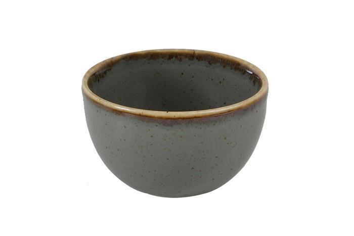 Porland Seasons Dark Grey bowl 10 cm 21 cl