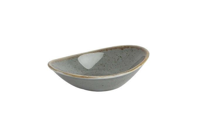 Porland Seasons Dark Grey mini bowl ovaal 11 cm