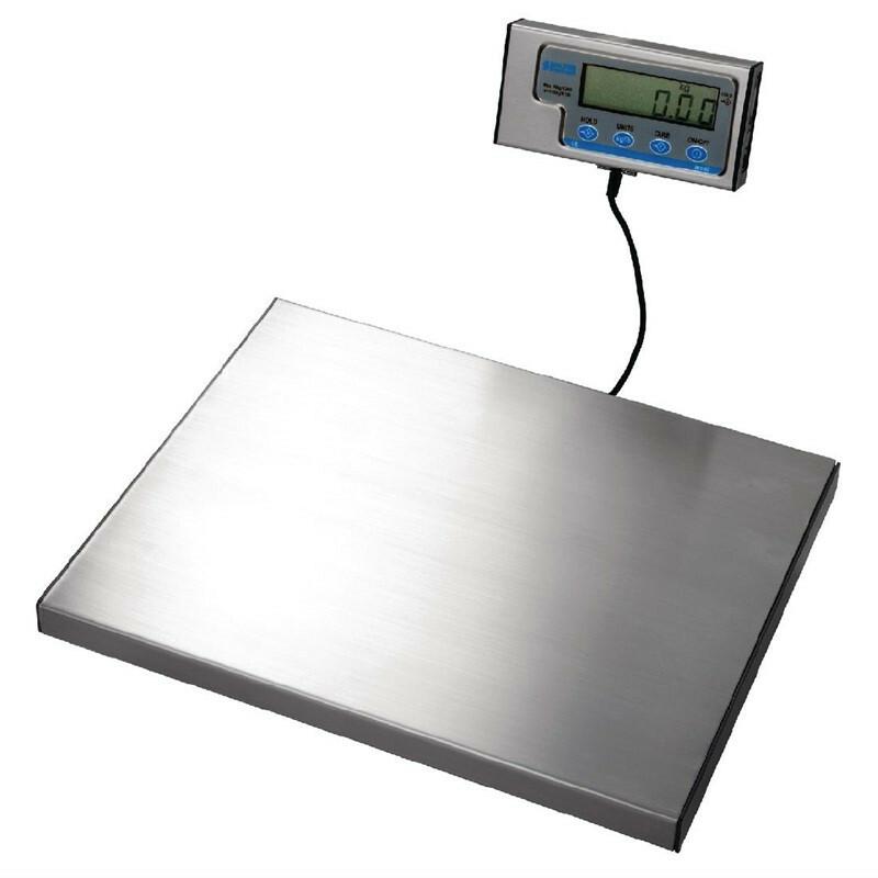 Salter Brecknell elektronische weegschaal 120 kg in 50 grams stappen