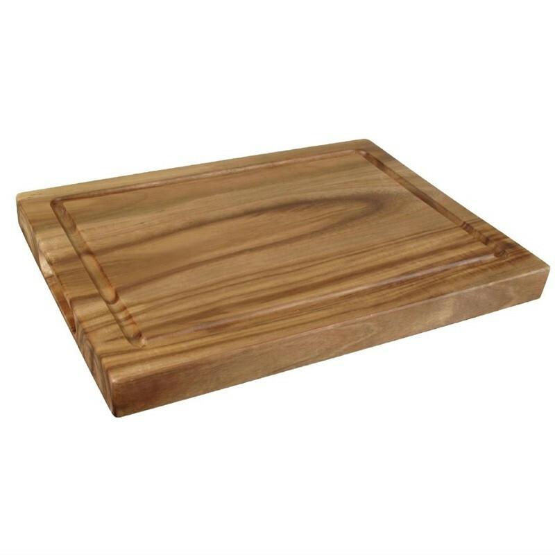 plank rechthoek acacia 26 x 19 cm