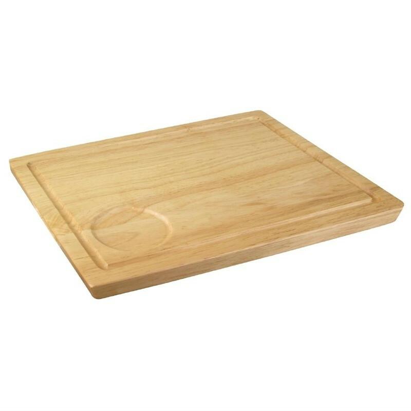 plank rechthoek hevea 31 x 24 cm