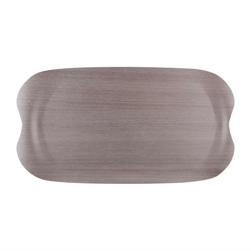 Roltex Earth Tray Wave grijs 43 x 23 cm