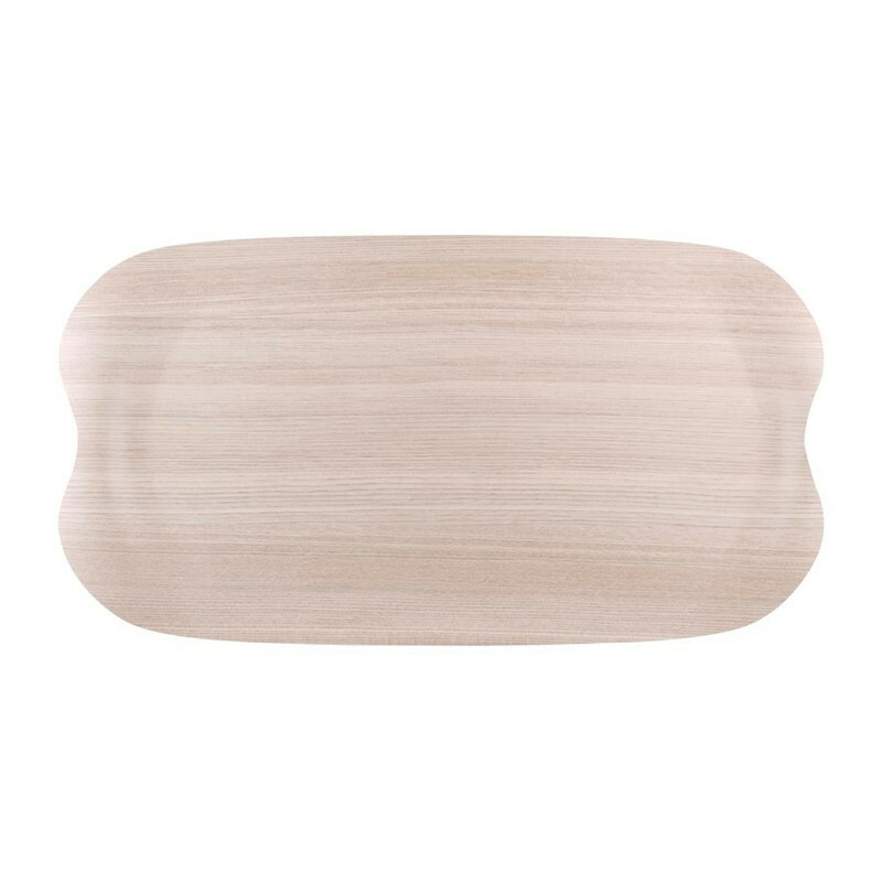 Roltex Earth Tray Wave licht hout 43 x 23 cm