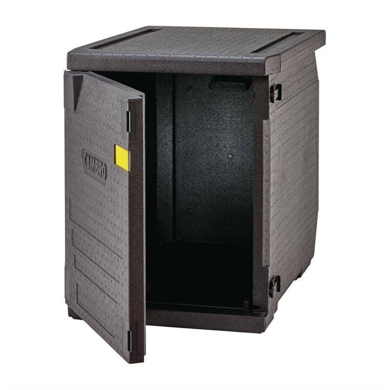 Cambro Cam Gobox thermobox voorlader, geen rails voor 60 x 40 cm kratten