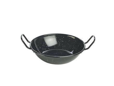 emaille wokpan 16 x 4(h) cm