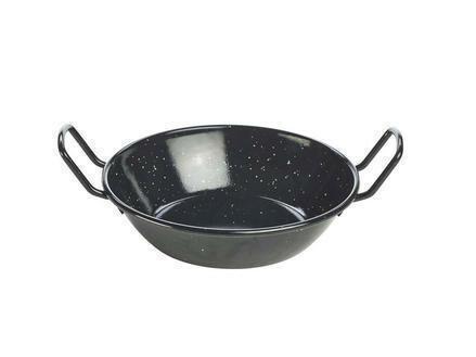 emaille wokpan 22 x 5,5(h) cm