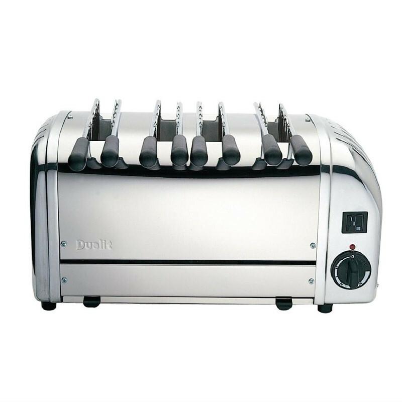 Dualit sandwich toaster 41036 4 sleuven RVS