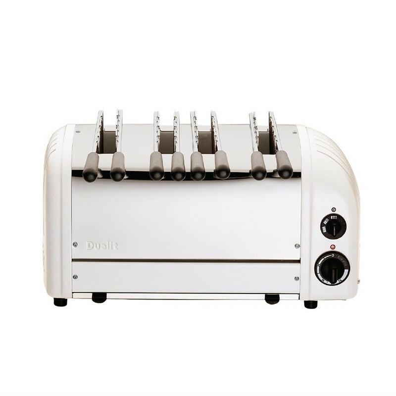 Dualit sandwich toaster 41034 wit 4 sleuven 80 sneetjes p/u