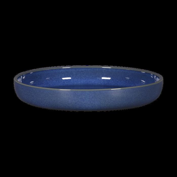 RAK Ease Cobalt bord diep opstaande rand 28 x 4,5(h) cm