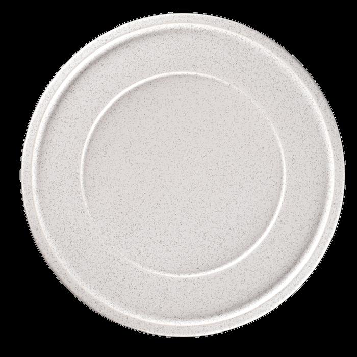 RAK Ease Clay bord plat met rand 28 cm