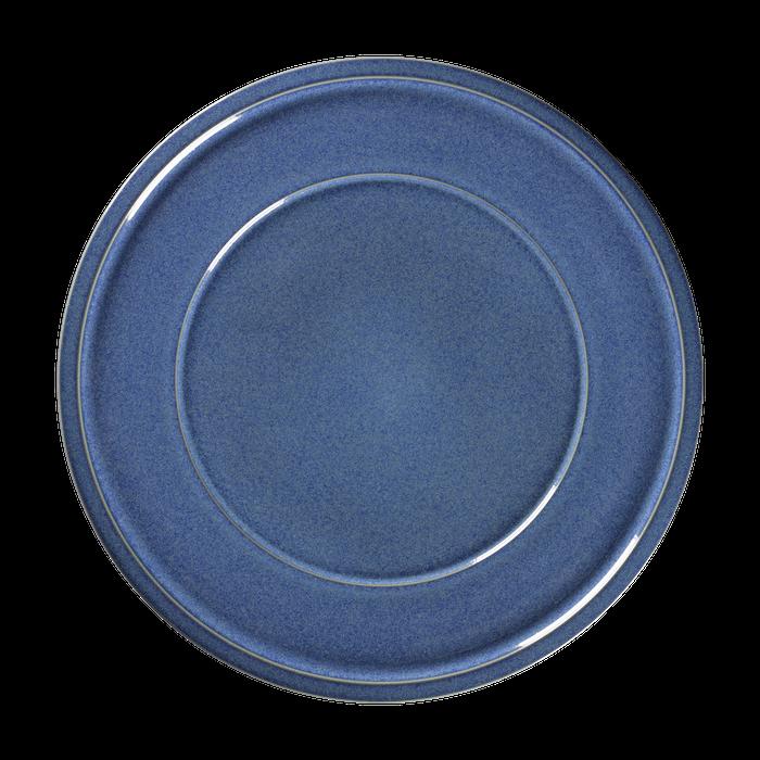 RAK Ease Cobalt bord plat met rand 20,5 cm