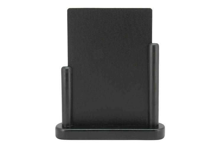 Securit krijtbord Elegant medium donker hout 20 x 6 x 23,3(h) cm