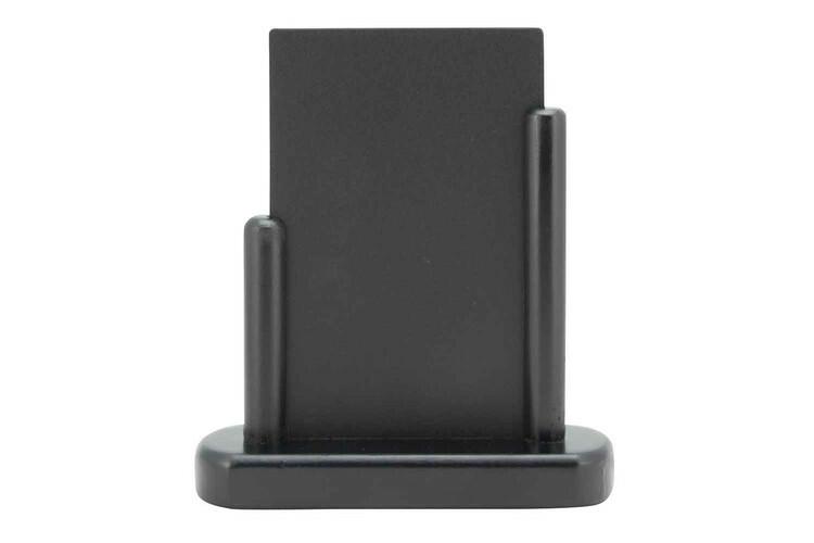 Securit krijtbord Elegant klein donker hout 15,5 x 5 x 17,7(h) cm