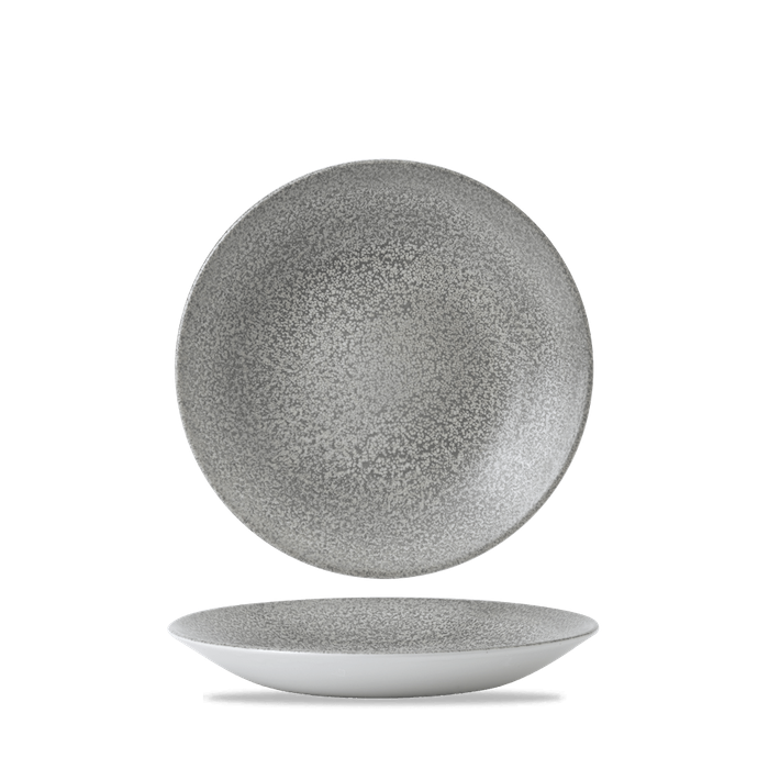 Dudson Evo Origins Natural Grey diep coupe bord 25,5 cm