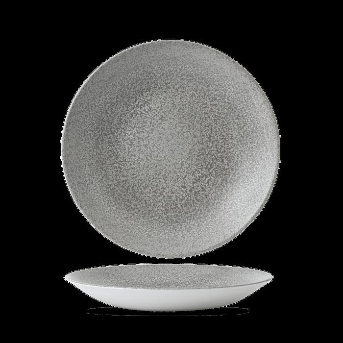 Dudson Evo Origins Natural Grey diep coupe bord 28,1 cm