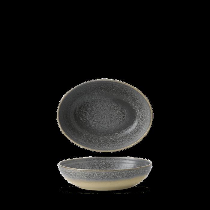 Dudson Evo Granite oval bowl 21,6 x 16,4 cm