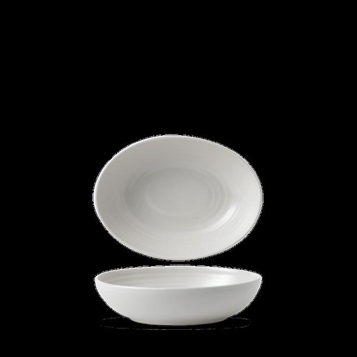 Dudson Evo Pearl oval bowl 21,6 x 16,4 cm
