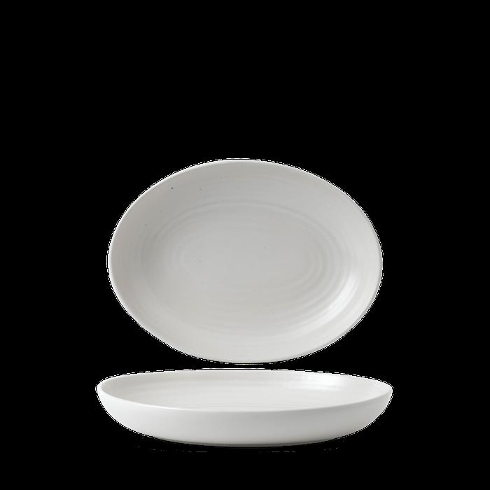 Dudson Evo Pearl oval bowl 26,7 x 19,7 cm