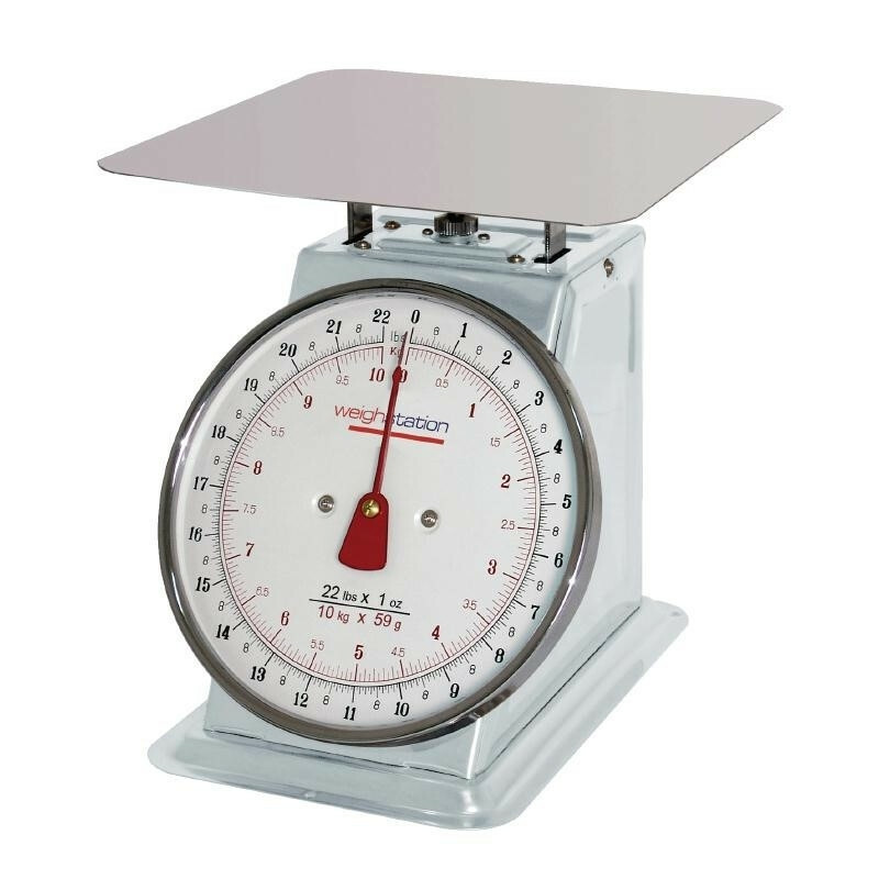 Weight Station weegschaal 10 kg in 50 grams stappen