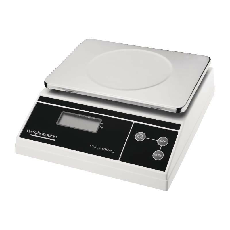 Weight Station elektronische weegschaal 15 kg in 5 grams stappen