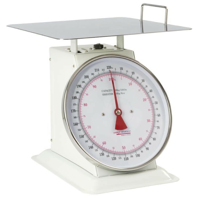 Weight Station weegschaal 100 kg in stappen van 200 gr.