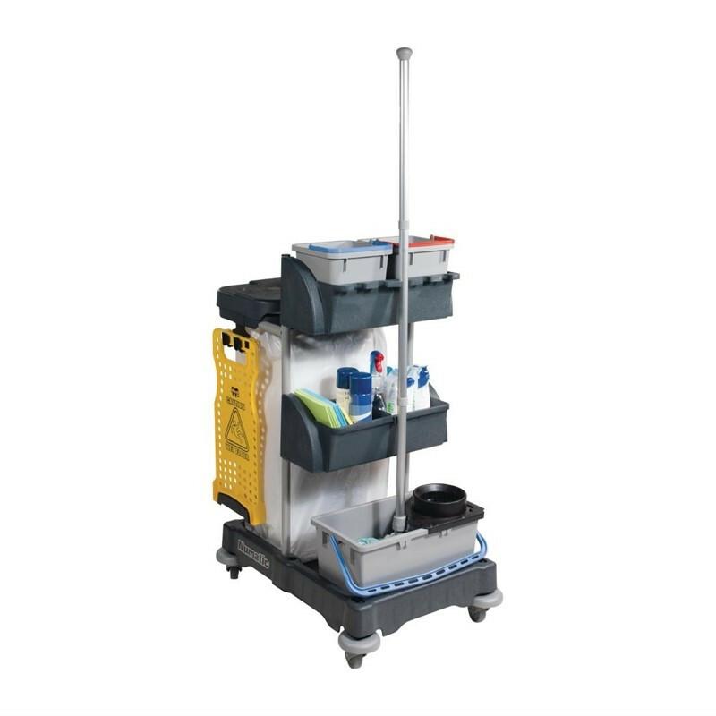 Numatic huishoudwagen 120 liter afvalunit