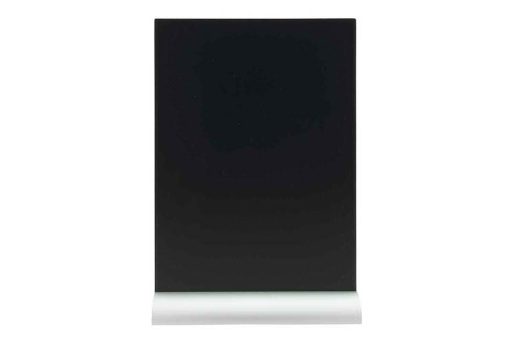 Securit krijtbord Silhouet A4 aluminium basis 21 x 6 x 30,8(h) cm