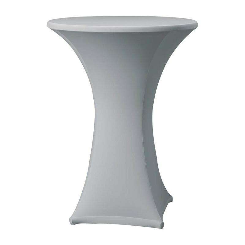 Samba stretch statafelhoes tafel max. Ø 85 x 115(h) cm GRIJS