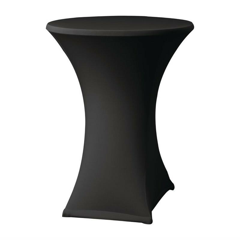 Samba stretch statafelhoes tafel max. Ø 85 x 115(h) cm ZWART