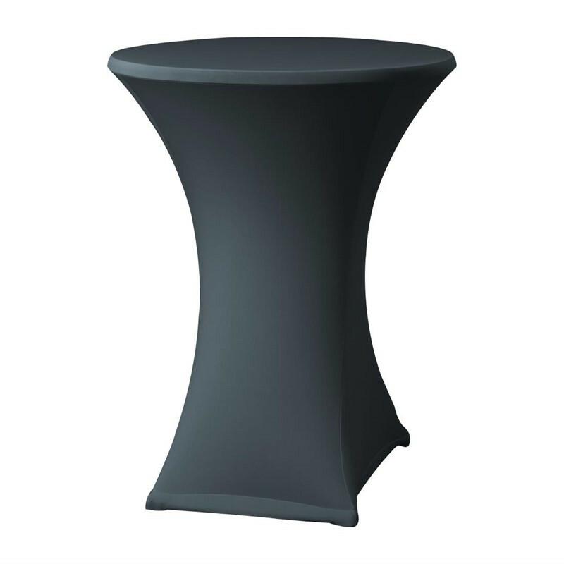Samba stretch statafelhoes tafel max. Ø 85 x 115(h) cm ANTRACIET