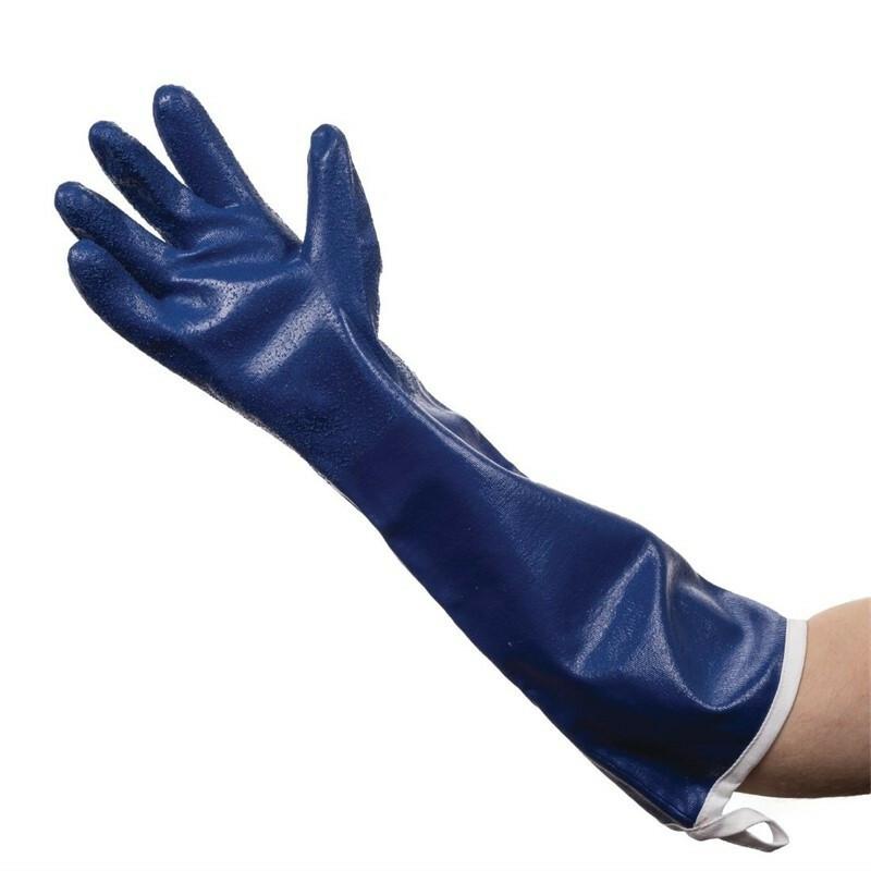 Burnguard schoonmaakhandschoen vloeistofdicht en beschermd tot 50 C