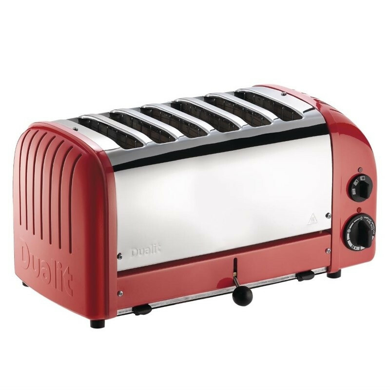 Dualit Vario broodrooster 60154 6 sleuven rood