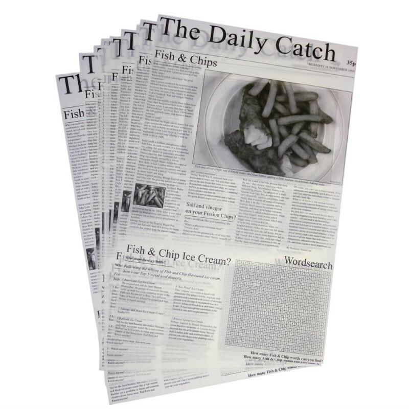 vetvrij papier The Daily Catch 42 x 27 cm DOOS 500